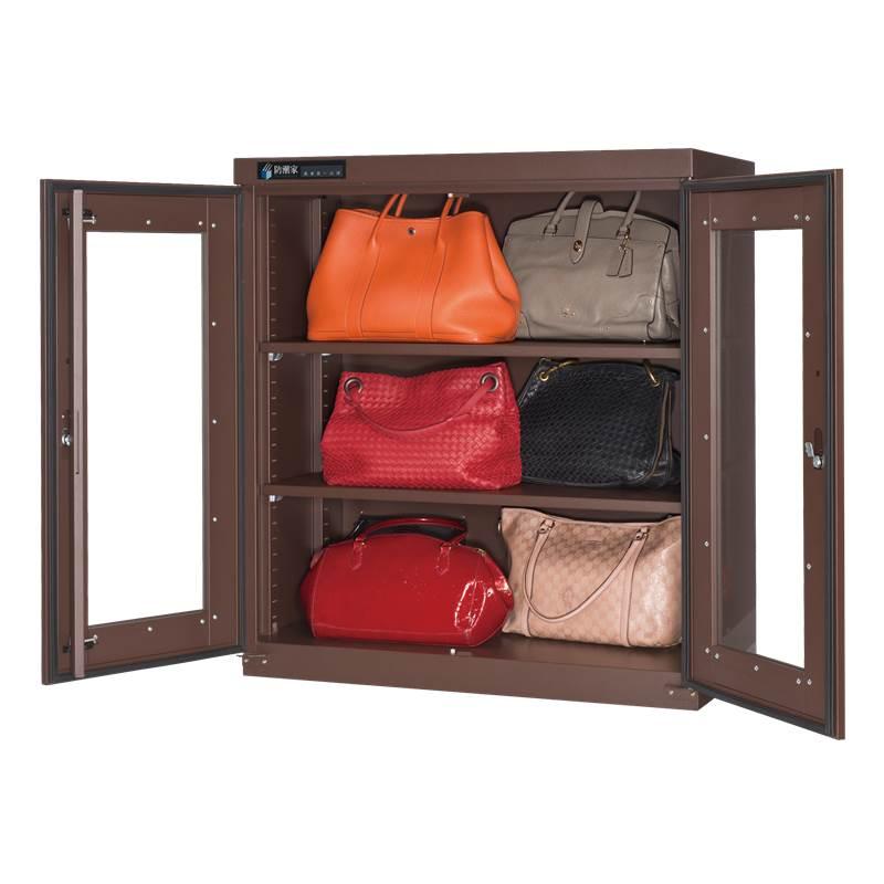 包包防潮箱,皮包除濕,名牌包防潮收納推薦BD-365C暖色咖